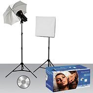 Westcott 242 Strobelite 2-Light Softbox/Umbrella Kit (Black)
