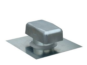 Metal Roof Vent with Round Connect (4 Inch) (JV 428 )