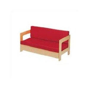 (Jonti-Craft 0375JC Living Room Couch, Red)
