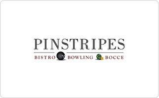 Pinstripes Gift Card ($50) - Stores Edina