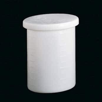 (Cole-Parmer Cylindrical Tank with Cover, HDPE, 30 Gal.)