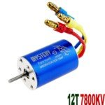 Mystery 12T 7800KV Brushless Motor for 1:16/1:18 Scale Electromotion RV Car(Blue)