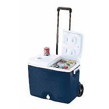 Rubbermaid 45 qt Wheeled Ice Chest by Rubbermaid ()