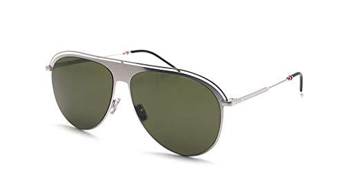 2a5190d68a187 Christian Dior Homme Dior0217S Sunglasses Palladium Green w Green Lens 59mm  KTUQT