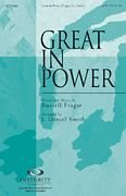 Great in Power (Worship Gospel Sheet Music)