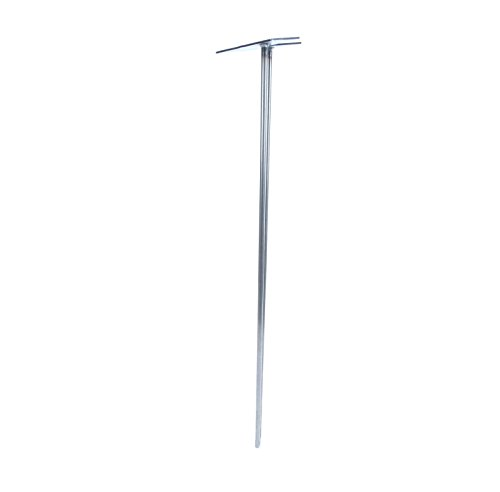 """4"""" - 40"""" Hairpin Legs - 2Rod Design - Raw Steel - 3/8"""" Diameter - MADE in the USA (35"""" Height x 3/8"""" Diameter - EACH LEG SOLD SEPARATELY)"""
