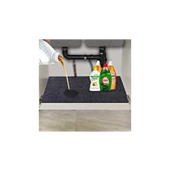 Amazon Com Convelife Under The Sink Mat Kitchen Tray Drip