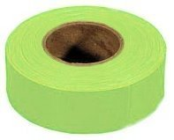 Irwin Strait Line 65604 1-3/16 Lime Fluorescent Flagging Tape by Irwin Tools