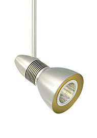 Tech Lighting 700MOHEL4006S-LED Monorail-Helios 40° 06 IN, 9.35'' x 6.8'' x 6.8'', Satin Nickel