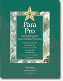 Para Pro : Supporting the Instructional Process, Randy Sprick, Mickey Garrison, Lisa Howard, 1599090007