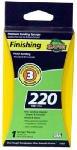 Ali Industries 7302 EZ123 3 x 5 x 1-Inch 220-Grit Sanding Sponge - Quantity 5
