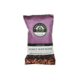 Executive Suite(R) Donut Shop Regular Blend Coffee, 2 Oz, Box Of 42