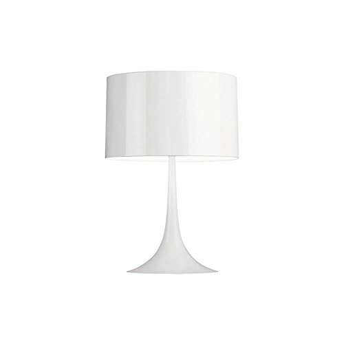 Flos Spun Light - Flos Spun Light T1 Table Lamp Glossy White 110 Volt
