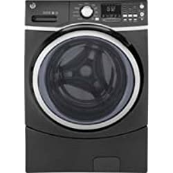 GE GFW450SPKDG 4.5 Cu. Ft. Diamond Gray Front Load Stackable With Steam Cycle Washer - Energy Star