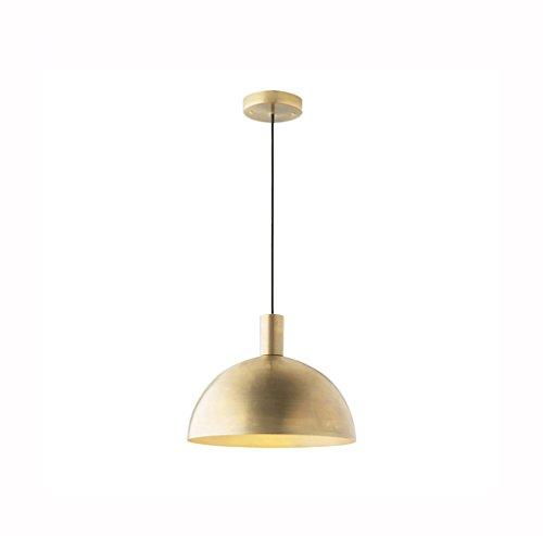 Raw Copper Pendant Light