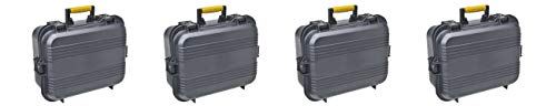 Plano 108031 AW XL Pistol/Accessories Case Black (Pack of 4) (Plano 108031 Aw Xl Pistol Accessories Case Black)