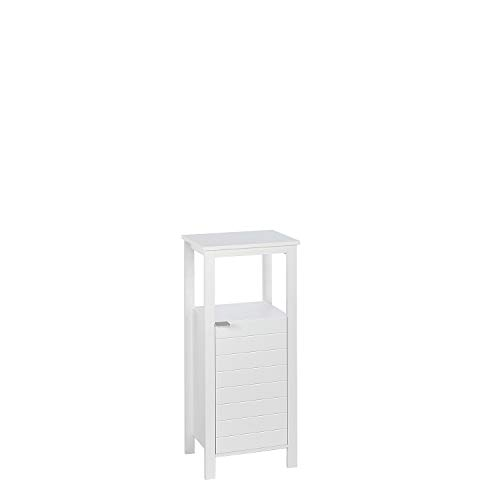 RiverRidge Home 06-111 Madison Collection Single Door White Floor Cabinet