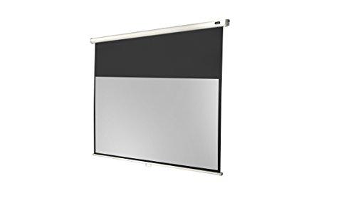 Celexon Rolloleinwand Economy   Format 16:9   Tuchfläche 160 x 90 cm   Beamerleinwand geeignet für jeglichen Projektortyp   Auch als Full-HD und 3D-Leinwand einsetzbar   einfache Installation & gute Planlage  