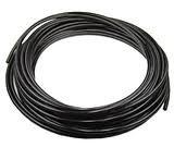 PneumaticPlus 1/8-Inch Tubing 100Foot Roll for Air Compressor/Garden WOG Water Oil Gas (Black)