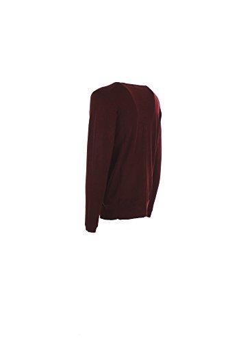 Cardigan Uomo Klixs Jeans S Bordeaux Klmj072 Autunno Inverno 2016/17