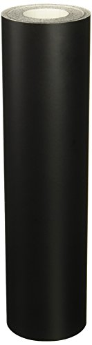 Roll of Oracal 651 Matte Black Vinyl for Craft Cutters and Vinyl Sign Cutters (12
