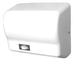 American Dryer Global GX1 ABS Cover Automatic Hand Dryer, 110-120V, 1,500W Power, 50/60Hz, White by American Dryer
