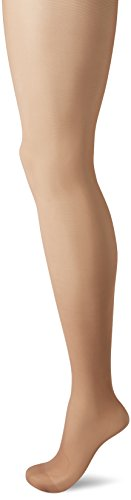 No Nonsense Women's Graduated Compression Smart Support Pantyhose, Suntan, B (Womens Support Hosiery)