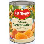 #10: Del Monte Apricots, Halves California in Heavy Syrup 15.25 oz (Pack of 12)
