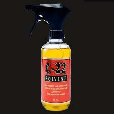 C 22 Adhesive Solvent. Oil base 12 oz. spray glue wig cleaner by Walker Tape