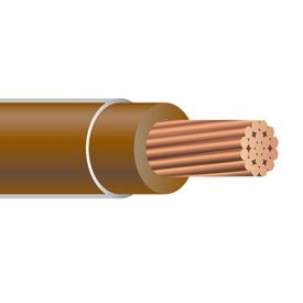 250FT 300 AWG XHHW Stranded copper Wire 600V Brown by Nassau Electrical Supply