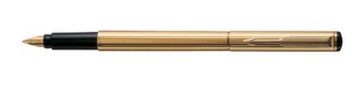 Parker Rialto Gold Plated Fountain Pen Fine Nib