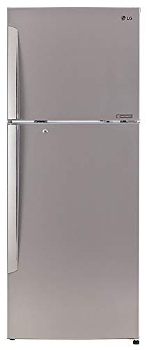 LG 420 L 3 Star Smart Inverter Frost Free Double Door Refrigerator (GL-I472QPZX, Shiny Steel)