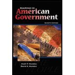 Readings in American Government, Nichols, David K. and Nichols, Mary P., 0757511244
