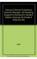 Harcourt School Publishers Science Georgia: GA Reading Support & Homework Student Edition Science 09 Grade 4 pdf epub