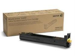 XEROX YELLOW STD-CAP TONER CARTRIDGE 6400