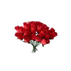24 Realistic Wooden Red Roses (RED, 1) by Aariel's Attic 56