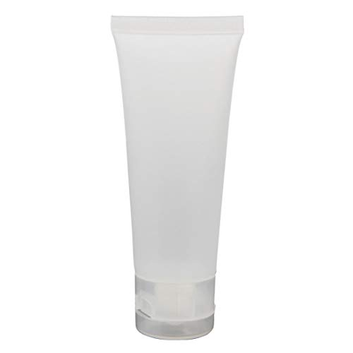 Refillable Cd Holder - Empty Tubes Cosmetic Cream Travel Lotion Containers Bottle 50ML