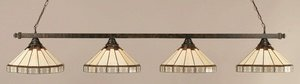 Pool Table Lights Contemporary Lighting - Any 4 Light Kitchen Island Pendant Finish: Bronze