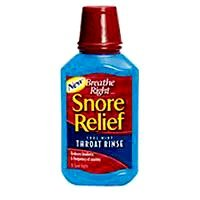 Breathe Right Snore Relief Throat Rinse, cool Mint 10 fl oz by Breathe Right