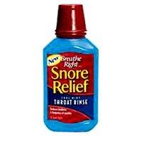 Breathe Right Snore secours gorge rinçage, frais Mint 10 fl oz