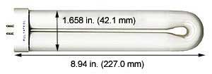 Compact Fluorescent Bulbs FUL18CW Cool White (Case of 15)