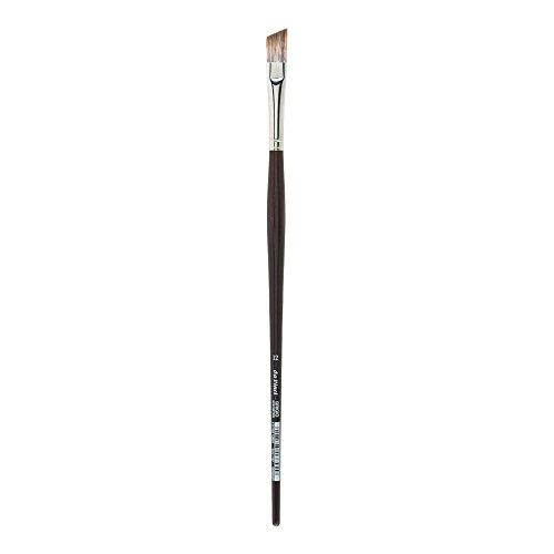 da Vinci Oil & Acrylic Series 7197 Grigio Paint Brush, Slant Synthetic with Bordeaux Ergonomic Handle, Size ()