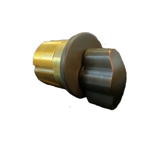 GMS M114T AR US10B Replacement Mortise T-Turn Cylinder for Arrow Locks