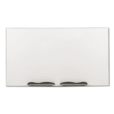 Ultra-Trim Magnetic Board, Dry Erase Porcelain-on-Steel, 96 x 48, White/Silver, Sold as 1 Each
