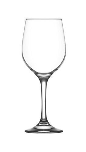 lav Wine Glasses Red Or White, All Purpose Set of 6-13.25 oz