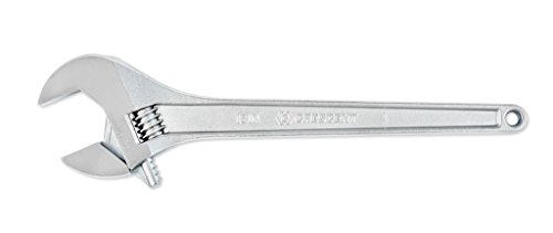 18in Adjustable Wrench - Crescent AC218VS 18-Inch Chrome Finish Tapered Handle Adjustable Wrench