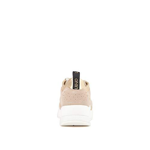 14 Karlie Peach Donna Jo sneaker Ginnastica Jeans Sabbia Scarpe Liu Basse Da EtXUx6qt