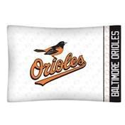 Sports Coverage MLB Baltimore Orioles Micro Fiber Pillow Cases, Standard, White