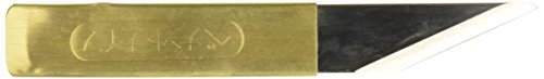 Yoshiharu Hamono 440-042 Penanto Japanese Kiridashi Brass Knife