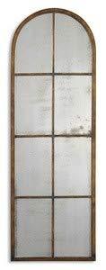 - Uttermost Amiel Arch Mirror 1.375 x 16.5 x 50, Maple Brown